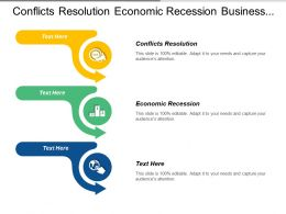 Conflicts Resolution Economic Recession Business Management Information System