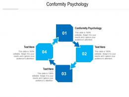 conformity psychology ppt powerpoint presentation visual aids model cpb