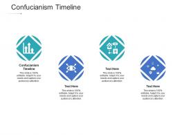 Confucianism Timeline Ppt Powerpoint Presentation Pictures Inspiration Cpb