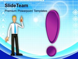 Confused Business Man Strategy Business PowerPoint Templates PPT Themes And Graphics 0213