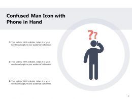 Confused Man Question Raising Hands Sitting Elbow Alternatives