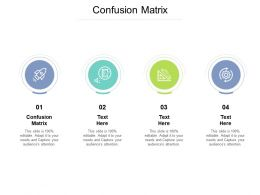 Confusion Matrix Ppt Powerpoint Presentation Example Cpb