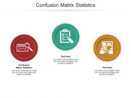 Confusion Matrix Statistics Ppt Powerpoint Presentation Summary Portfolio Cpb