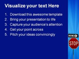 Confusion Sign Metaphor PowerPoint Templates And PowerPoint Backgrounds 0811  Presentation Themes and Graphics Slide02