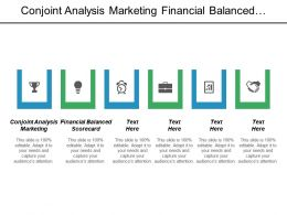 Conjoint Analysis Marketing Financial Balanced Scorecard Marketing Plan Outline Cpb