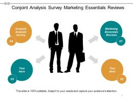Conjoint Analysis Survey Marketing Essentials Reviews Workplace Hazards Cpb