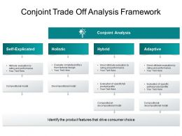 Conjoint Trade Off Analysis Framework