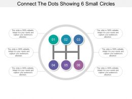 Connect The Dots Showing 6 Small Circles