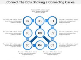 Connect The Dots Showing 9 Connecting Circles