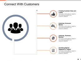 Connect With Customers Analyzing Consumer Market Ppt Powerpoint Presentation Ideas