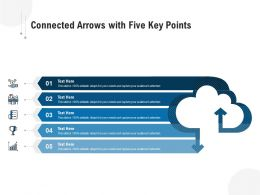 Connected Arrows With Five Key Points