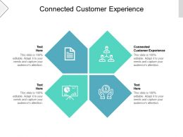 Connected Customer Experience Ppt Powerpoint Presentation Slides Example Introduction Cpb