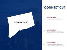 Connecticut Powerpoint Presentation PPT Template