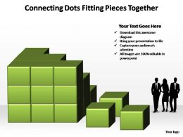 connecting dots fitting pieces together powerpoint templates