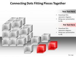 connecting dots fitting pieces together powerpoint templates infographics images 21
