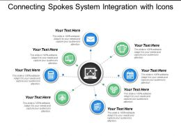 Connecting Spokes System Integration With Icons