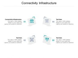 Connectivity Infrastructure Ppt Powerpoint Presentation Summary Maker Cpb