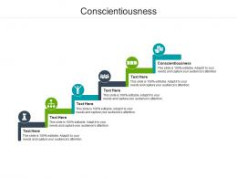 Conscientiousness Ppt Powerpoint Presentation File Master Slide Cpb