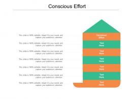 conscious effort ppt powerpoint presentation file smartart cpb