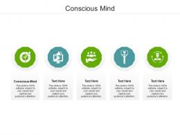 Conscious Mind Ppt Powerpoint Presentation Show Graphics Example Cpb