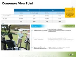 Consensus View Point Ppt Powerpoint Presentation Icon Templates