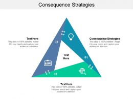 Consequence Strategies Ppt Powerpoint Presentation Model Slide Portrait Cpb