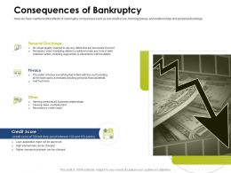 Consequences Of Bankruptcy Legal Action Ppt Powerpoint Presentation Templates