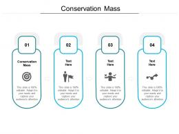 Conservation Mass Ppt Powerpoint Presentation Show Clipart Images Cpb