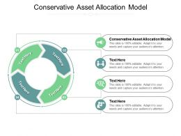Conservative Asset Allocation Model Ppt Powerpoint Presentation Icon Visuals Cpb