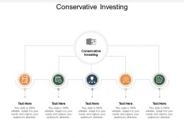 Conservative Investing Ppt Powerpoint Presentation Infographics Rules Cpb