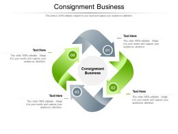 Consignment Business Ppt Powerpoint Presentation Slides Slideshow Cpb