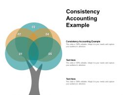 Consistency Accounting Example Ppt Powerpoint Presentation Pictures Slide Cpb