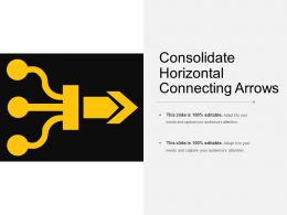 Consolidate Horizontal Connecting Arrows