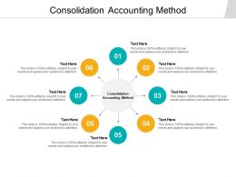 Consolidation Accounting Method Ppt Powerpoint Presentation Graphic Example Cpb