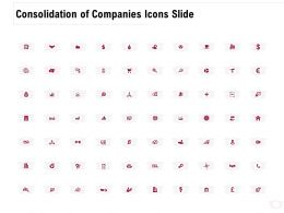 Consolidation Of Companies Icons Slide Ppt Powerpoint Presentation Styles Icons