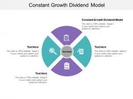 Constant Growth Dividend Model Ppt Powerpoint Presentation Portfolio Graphics Cpb
