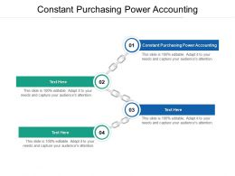 Constant Purchasing Power Accounting Ppt Powerpoint Presentation Infographic Cpb