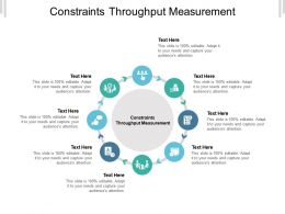 Constraints Throughput Measurement Ppt Powerpoint Presentation Portfolio Sample Cpb