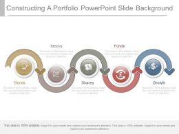 Constructing A Portfolio Powerpoint Slide Background