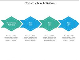 Construction Activities Ppt Powerpoint Presentation Gallery Graphics Example Cpb