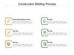 Construction Bidding Process Ppt Powerpoint Presentation Layouts Skills Cpb