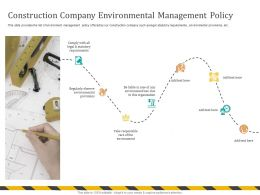 Construction Company Environmental Management Policy Loss Due Ppt Powerpoint Presentation File Aids