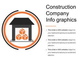 Construction Company Info Graphics