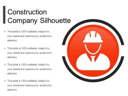 Construction Company Silhouette