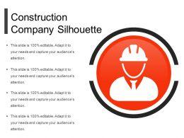 Construction Company Silhouette