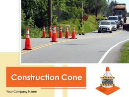 Construction Cone Traffic Barrier Site Building Truck Seaport