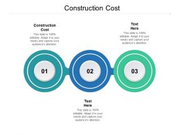 Construction Cost Ppt Powerpoint Presentation Infographics Themes Cpb