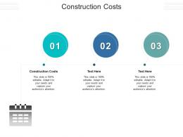 Construction Costs Ppt Powerpoint Presentation Infographics Inspiration Cpb