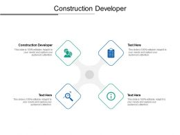 Construction Developer Ppt Powerpoint Presentation Portfolio Introduction Cpb