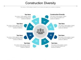 Construction Diversity Ppt Powerpoint Presentation Professional Outline Cpb
